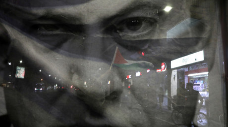 Netanyahu says Palestinian flags at Tel Aviv rally prove nation-state law is crucial for Israel