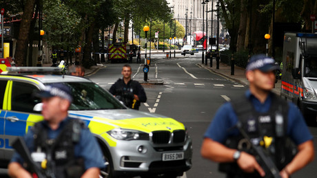 Counter-terrorism police leads probe into car-ramming incident near London's Parliament