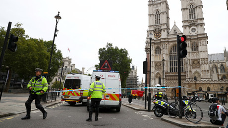 VIDEO of Houses of Parliament suspected terror attack released