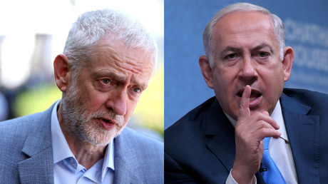 'Wreaths for terrorists': Netanyahu & Corbyn face off over 'anti-Semitism' as Twitter erupts