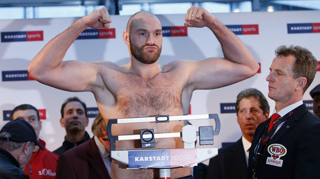 Tyson Fury brands Deontay Wilder 'a little b****' as press conference turns ugly (VIDEO)