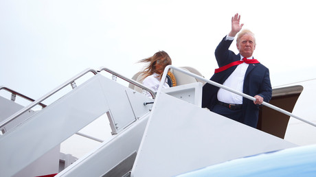 Trump slams hefty price tag for DC military parade, will spend $900k on flight to Paris instead