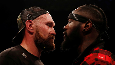 5b796622dda4c86f608b4598 Tyson Fury confirms Deontay Wilder bout after second comeback win