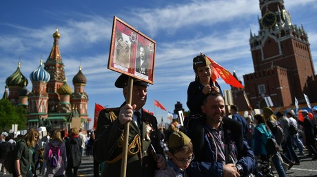 Two thirds of Russians believe secret groups conspiring to rewrite history & harm nation