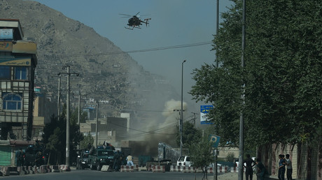 Massive missile attack launched near presidential palace in Kabul