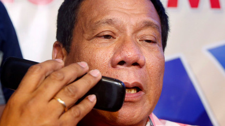 5b7cc05afc7e934b6e8b4623 'The CIA is listening & may kill me': Duterte mulls ditching his smartphone