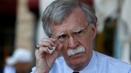 US national security adviser John Bolton © Ronen Zvulun