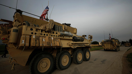 FILE PHOTO: US military in Syria © Rodi Said