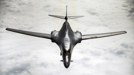 FILE PHOTO A US Air Force B-1B Lancer
