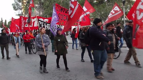 'No to Yankee base!' Locals rally against US installation in Argentina