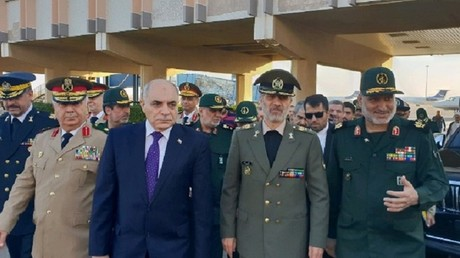Iran's defense minister arrives in Damascus to discuss reconstruction of Syria