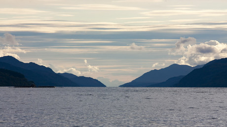 Loch Ness, mythical home of the Loch Ness Monster - sometimes called 'Nessie' in the Scottish highlands. ©