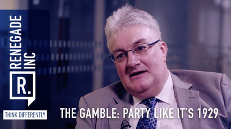 The gamble: Party like it's 1929