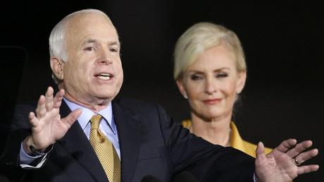 'Where do you think we live?' Geraldo Rivera slammed for suggesting McCain widow take Senate seat