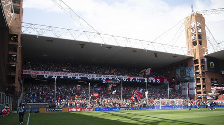 43 minutes of silence: Genoa fans honor bridge collapse victims at Serie A fixture