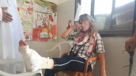 Israeli forces shoot Norwegian peace activist twice in one week (VIDEO)