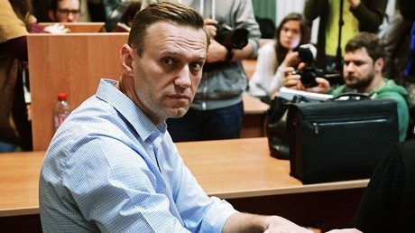 Navalny sentenced to 30 days in custody for violations in January 'voters' strike' protest
