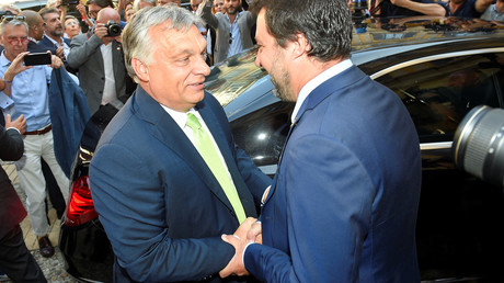 BFFs: Viktor Orban says Italy's Salvini is his 'hero' ahead of Tuesday meeting on migration