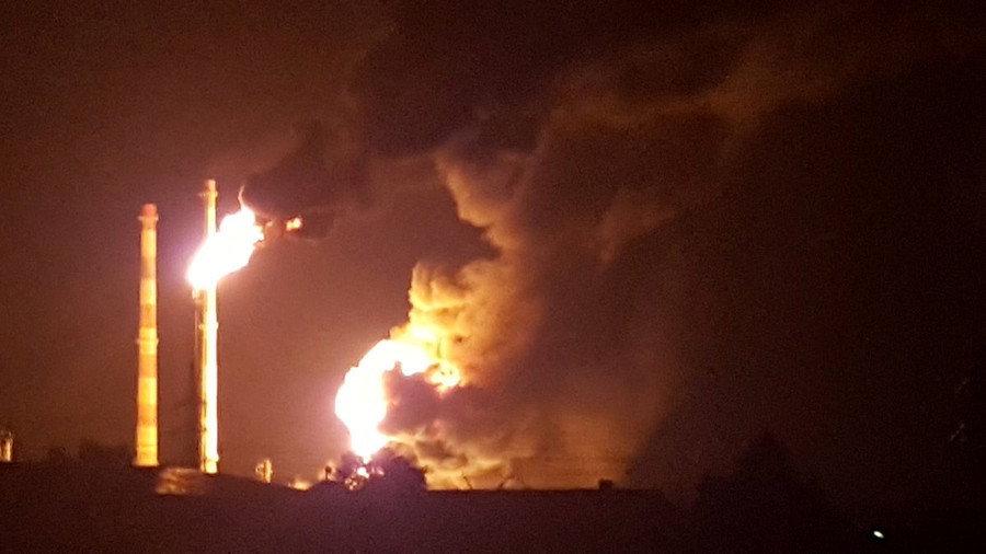 Oil refinery explosion injures several in south Germany