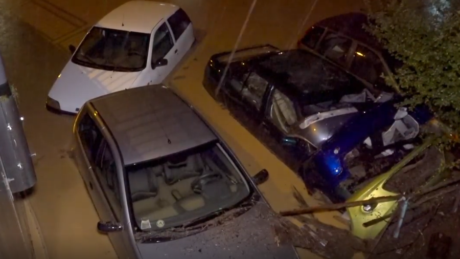Streets submerged, cars swept away as flash flooding strikes northern Italy (VIDEOS)