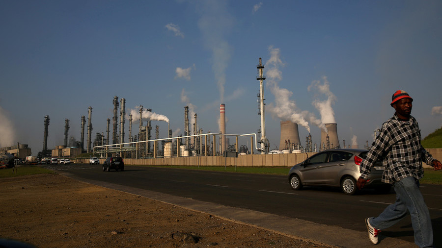 White workers at South African energy giant Sasol to strike over black-only share scheme