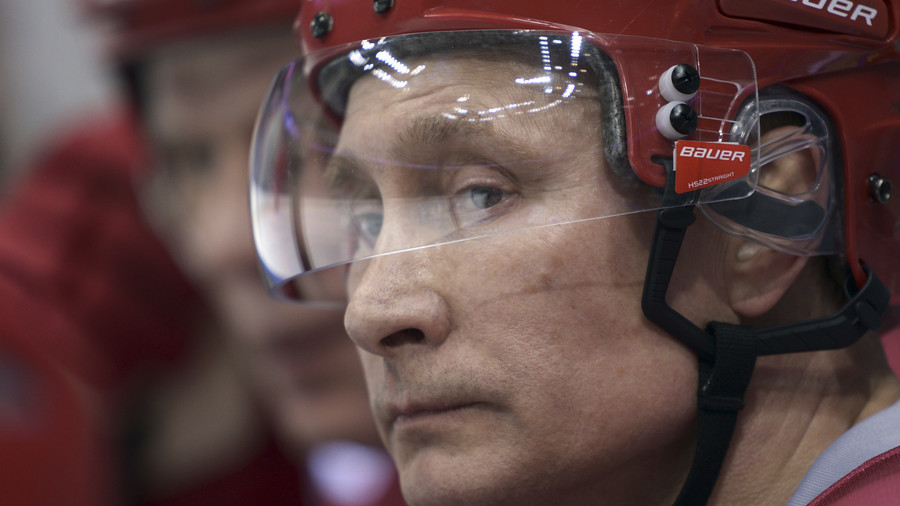 Face-off: Finnish hockey team could sue newspaper for Putin image on emblem