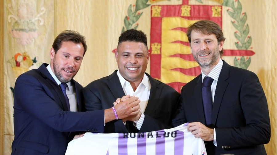 Ronaldo becomes majority owner at Real Valladolid