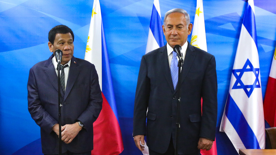 Israeli politician suggests popping 'nausea pills' to stomach President Duterte's visit