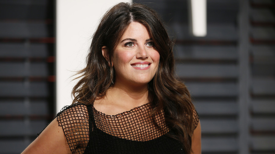 Stormed off? Media dramatizes moment Monica Lewinsky leaves stage after off-limits Clinton question