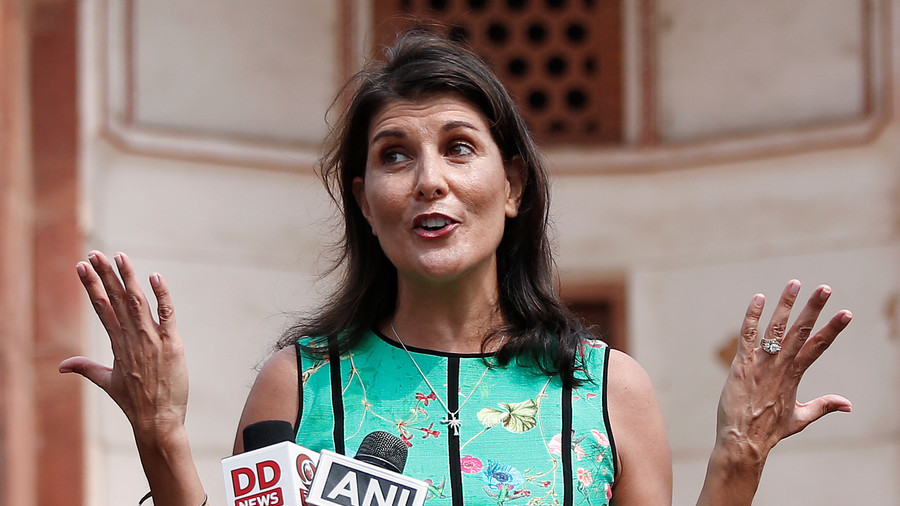 Nikki Haley Warns Assad Regime of 'Dire Consequences'
