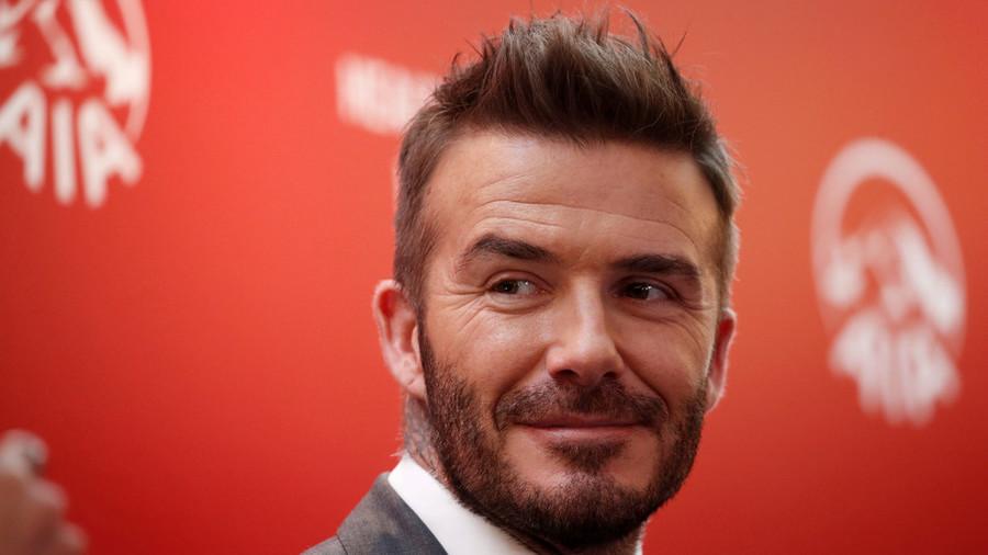 Football icon David Beckham reveals franchise name & emblem - Twitter trolls assemble!