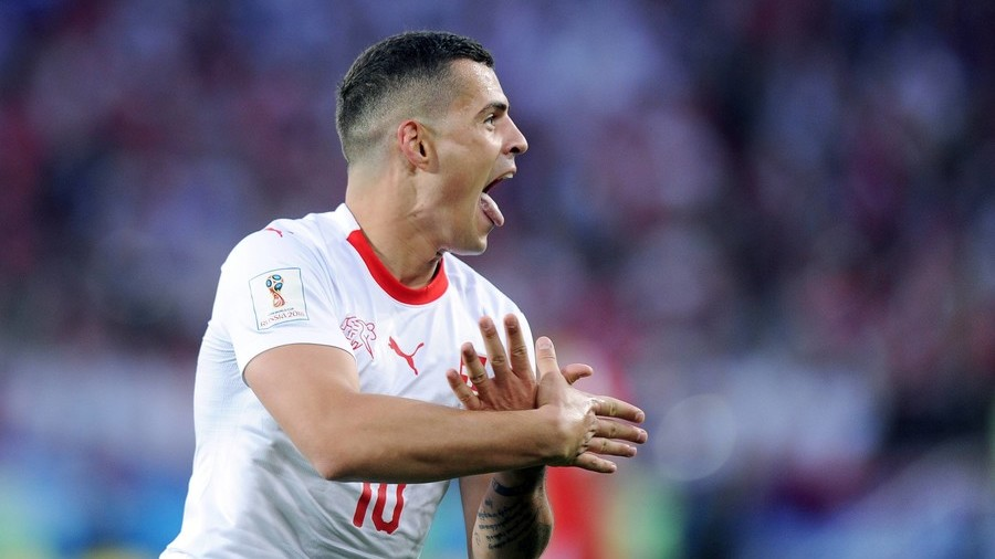 'He doesn't represent Switzerland': ex-Liverpool star on Xhaka's Albanian roots