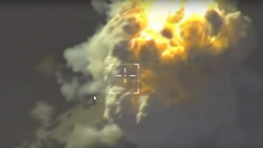 VIDEO of strikes on terrorist targets in Idlib released by Russian MoD