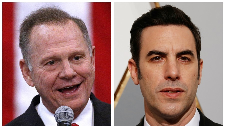 Roy Moore Suing Sacha Baron Cohen Over His 'Who Is America' Appearance