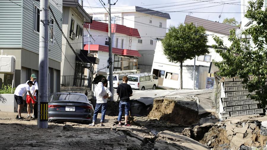 Japan cancels Chile game after earthquake wreaks devastation