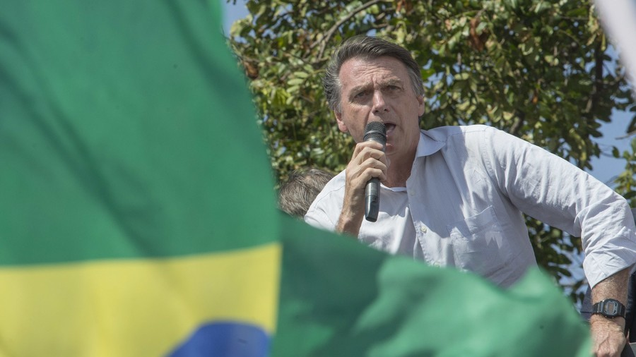 Brazil's Right-Wing Presidential Candidate Stabbed in the Stomach
