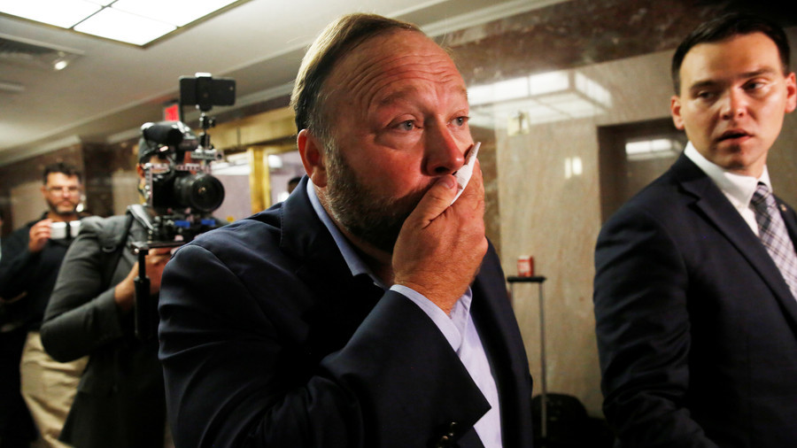 Twitter permanently bans Alex Jones and Infowars for 'abusive behavior'