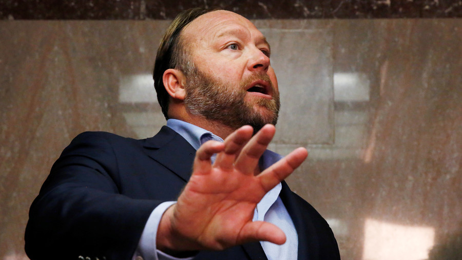 Apple bans InfoWars app as Alex Jones cries 'digital martial law'