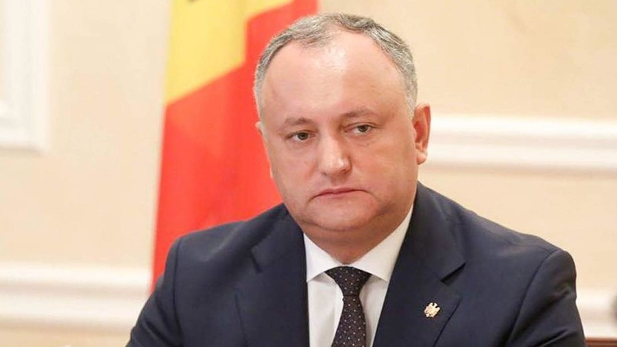 'He's fine': Moldovan president rushed to hospital after car crash (VIDEO)