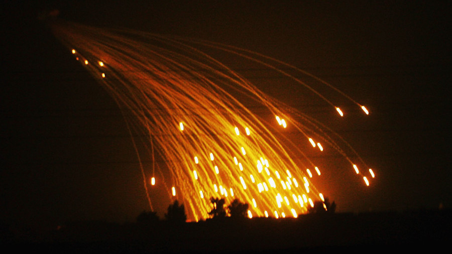Moscow: US of using white phosphorous in Syria