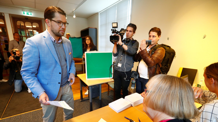 Sweden Democrats break through in parliamentary election, socialists remain biggest party