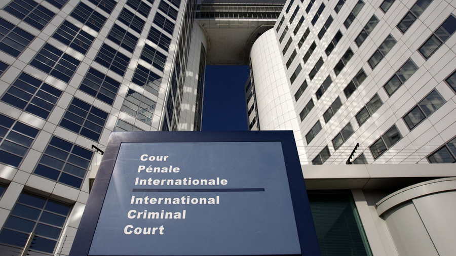 U.S.  threatens global  court over possible war crimes probe