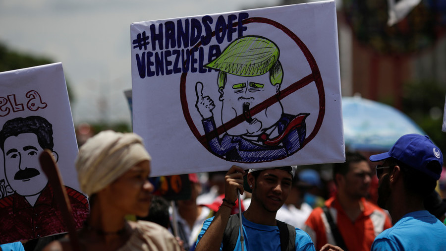 'Unacceptable and unjustifiable': Venezuelan FM blasts US for seeking regime change