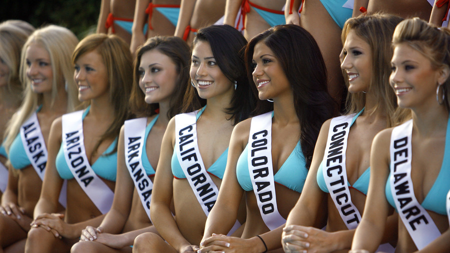 TV viewers prefer to watch giant men in spandex after Miss America pageant nixes bikini contest