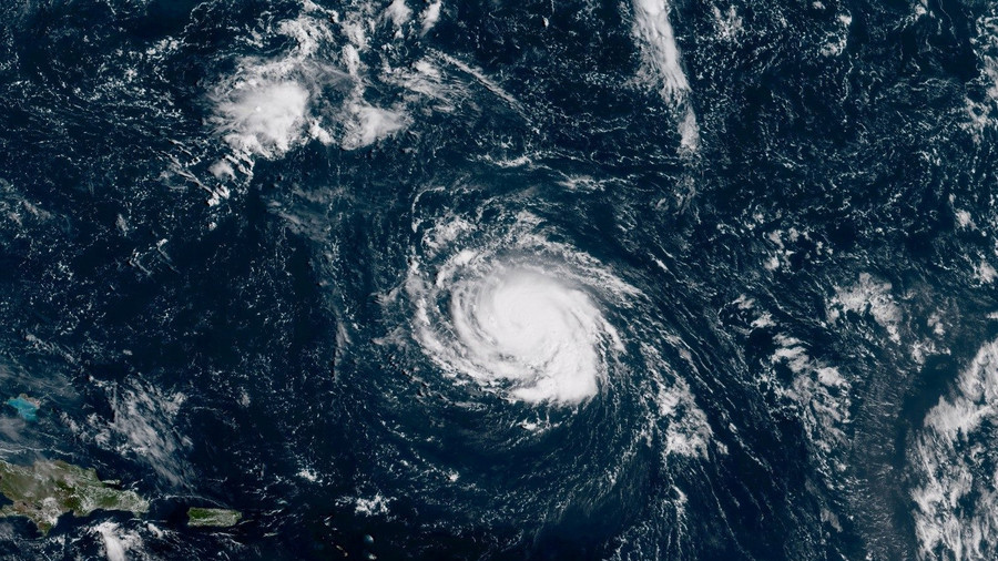 Hurricane Florence Looks Super-Scary When Seen From Space