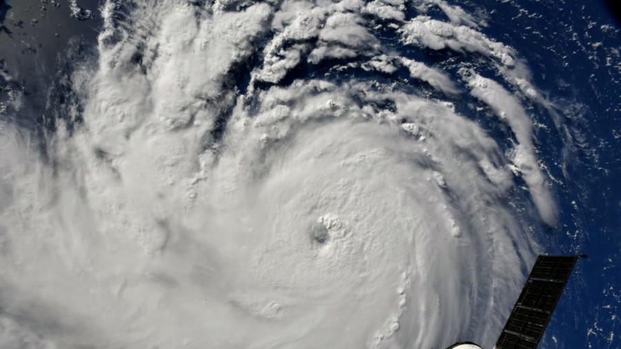 TV evangelist mercilessly mocked as he tries to banish Hurricane Florence