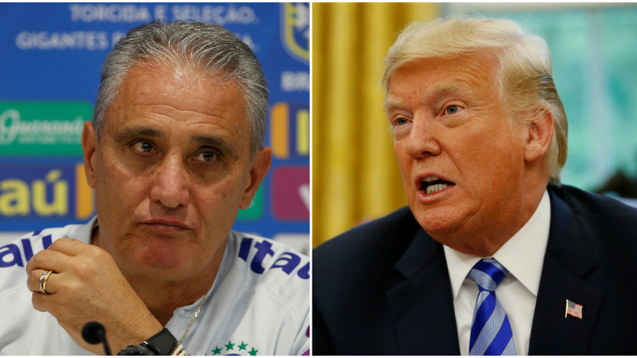 'Maybe he should be more well informed historically': Brazil coach tops Trump over World Cup jibe