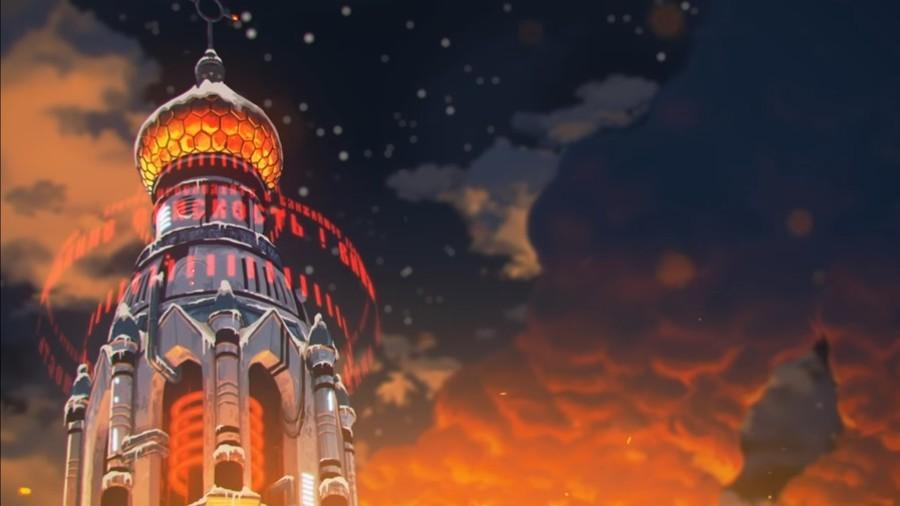 Tesla-coil church domes & matryoshka grenades: Kitsch action 'trailer' makes splash (VIDEO)