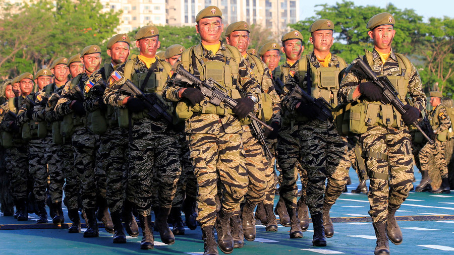 'Stage a mutiny!' Duterte dares Philippine military to act if they don't like his leadership