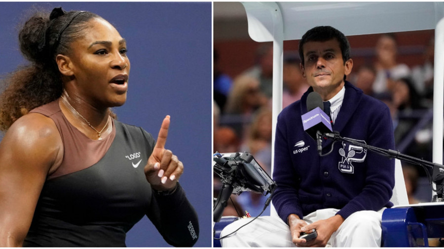 Serena fallout: Male tennis players punished more than women